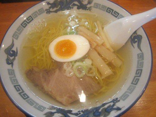 ソラトブ ドンブリ in 愛知-透明塩そば(¥550)