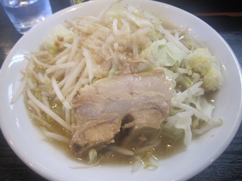 ソラトブ ドンブリ in 愛知-二郎系らーめん(¥730)