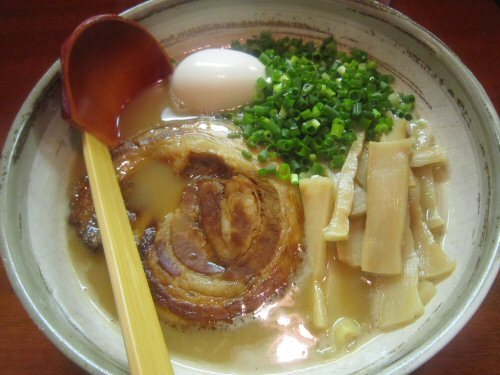 ソラトブ ドンブリ in 愛知-鶏白湯醤油らーめん(¥750)