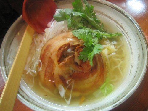 ソラトブ ドンブリ in 愛知-清湯塩らーめん(¥700)