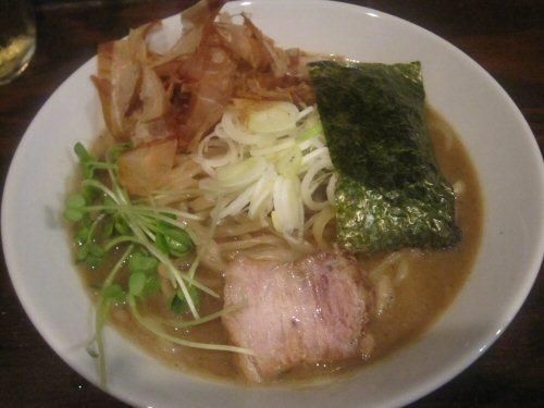 ソラトブ ドンブリ in 愛知-重厚煮干しそば(¥750)
