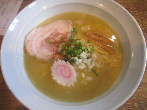 ソラトブ ドンブリ in 愛知-鶏白湯ラーメン・しお(¥650)