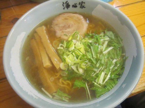 ソラトブ ドンブリ in 愛知-淡口岩塩そば(¥700)