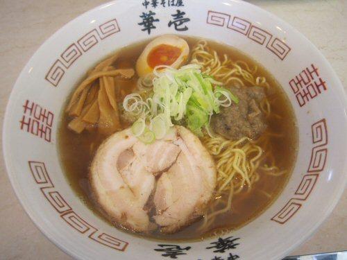 ソラトブ ドンブリ in 愛知-中華そば 魚醤(¥800)