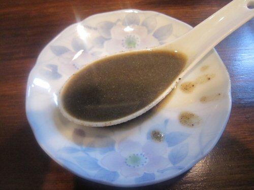 ソラトブ ドンブリ in 愛知-黒濃煮干脂(¥100)
