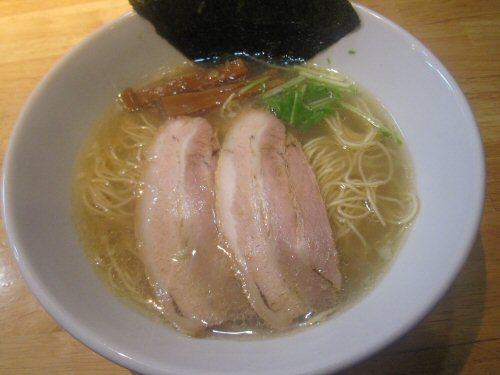 ソラトブ ドンブリ in 愛知-無化調塩らーめん(¥680)