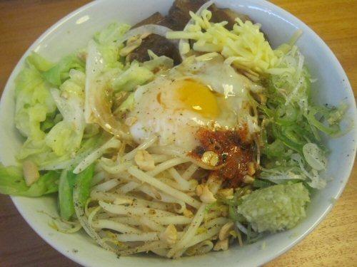 ソラトブ ドンブリ in 愛知-まぜそば(¥750)
