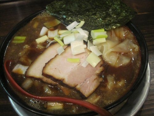 ソラトブ ドンブリ in 愛知-煮干ラーメン(¥680)