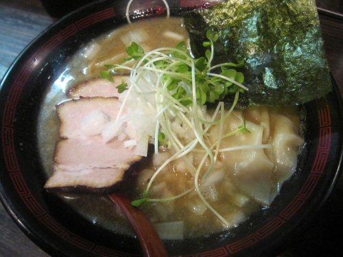 ソラトブ ドンブリ in 愛知-塩煮干ラーメン(¥730)