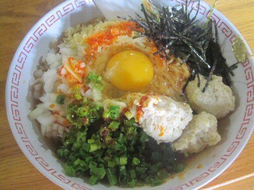 ソラトブ ドンブリ in 愛知-女そば(¥700)