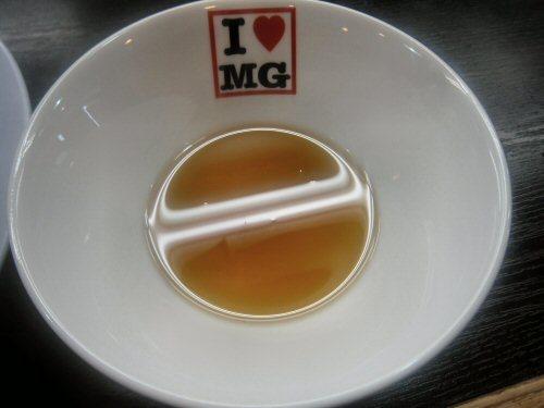 ソラトブ ドンブリ in 愛知-煮干し油(¥80)