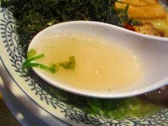 まるげん 塩ラーメン スープ