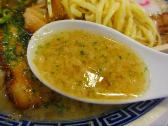 べんけい 辛子味噌ラーメンコッテリ スープ