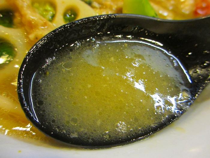 たかみち バトルラーメン スープ