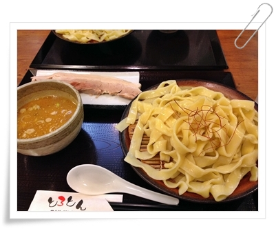 太いつけ麺