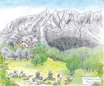 サント・ヴィクトワール山~教会ブログ