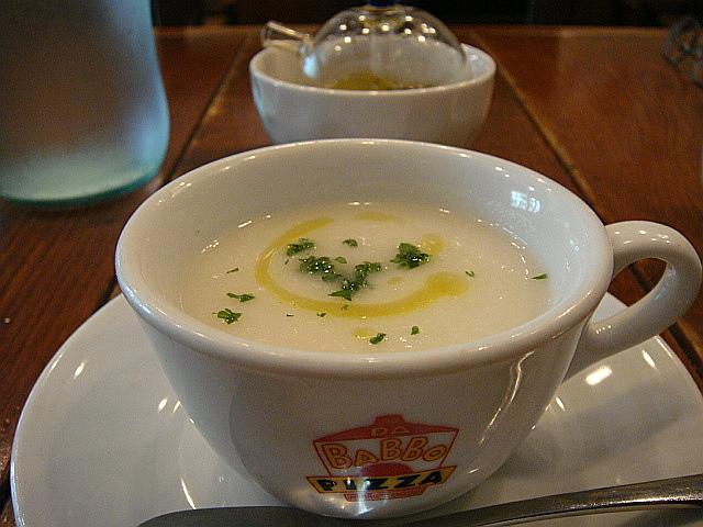 大根のスープ@ピッツア ダ バッボ