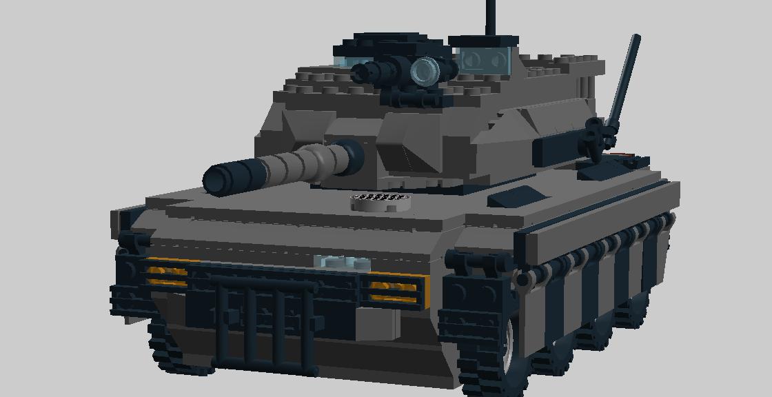 フリンダラⅡ装輪戦車1