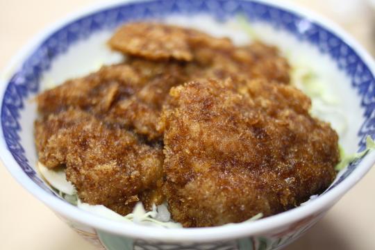 一関の松竹のソースかつ丼