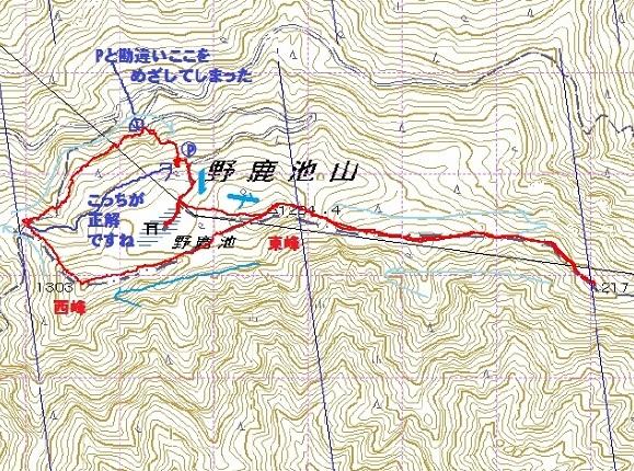 0603野鹿池山