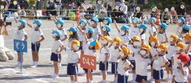 幼稚園運動会2013②