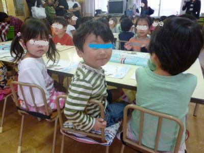 給食参観2013①
