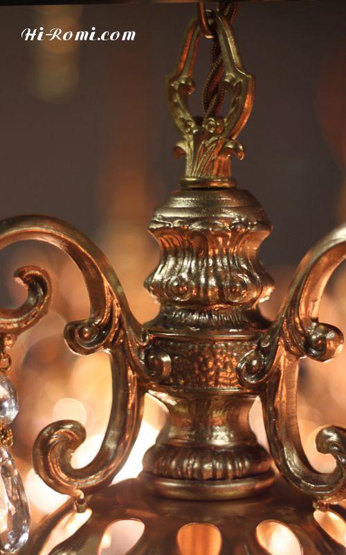 アンティーク、ヴィンテージ、シャンデリア、製作、修理、オーバーホール、リプロダクション、輸入、販売 神戸 Hi-Romi.com