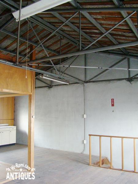 アンティーク ヴィンテージ ランプ 照明 倉庫 展示 ショウルーム ショップ