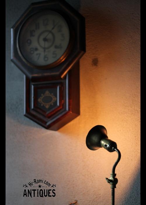 アンティーク真鍮角度調整付デスクライト LEVITONソケット Hi-Romi.com 20120724