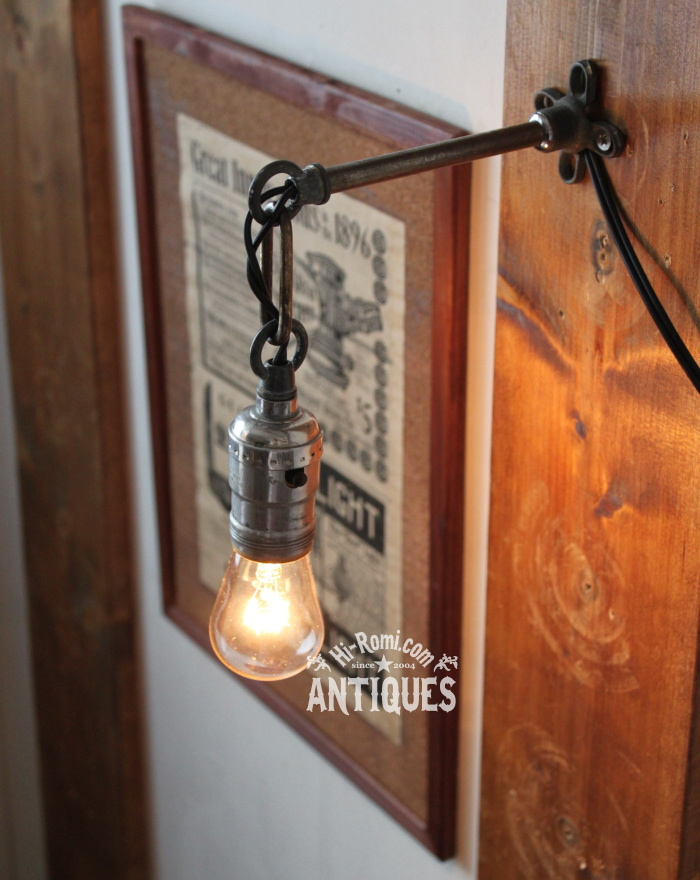LEVITON工業系壁掛ライト兼用ペンダントライト/アンティーク照明