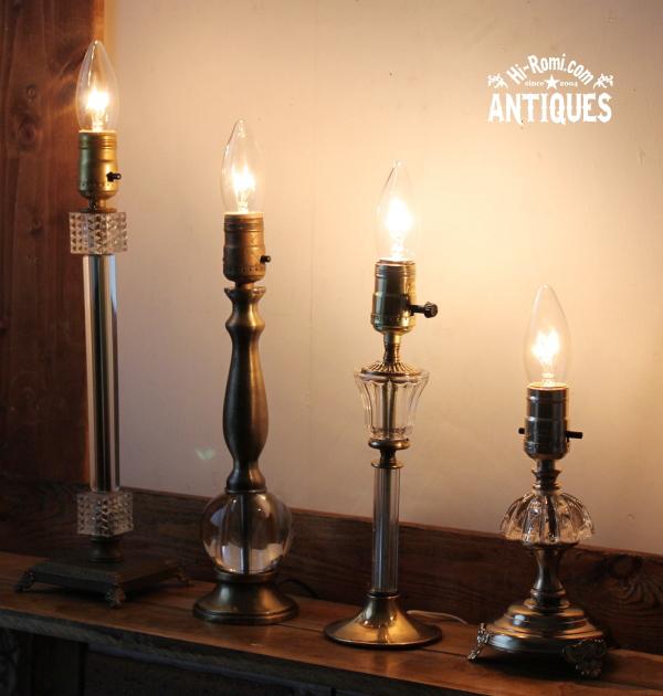 vinntage table lamps ヴィンテージ テーブルランプ 20120519-1