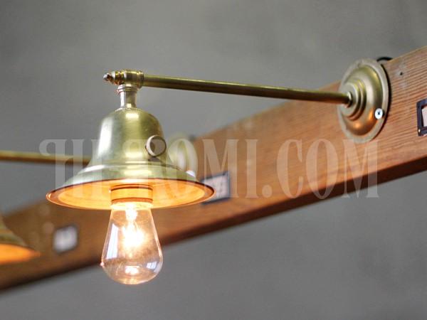アメリカンヴィンテージベル型シェードストレートアームブラケットランプA/アンティーク工業系/店舗 設計 デザイン 照明 計画 修理 輸入 販売 関西 神戸 Hi-Romi.com ハイロミドットコム
