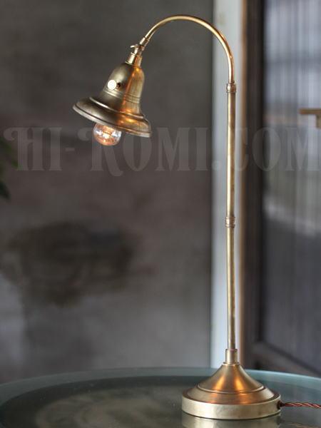 USAヴィンテージ角度調整付ファーマシー真鍮製テーブルライト/工業系アトリエ照明/店舗 設計 デザイン 照明 計画 修理 輸入 販売 関西 神戸 Hi-Romi.com ハイロミドットコム