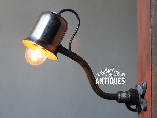 工業系ミニ壁掛ライト/アンティークランプ照明ブラケット