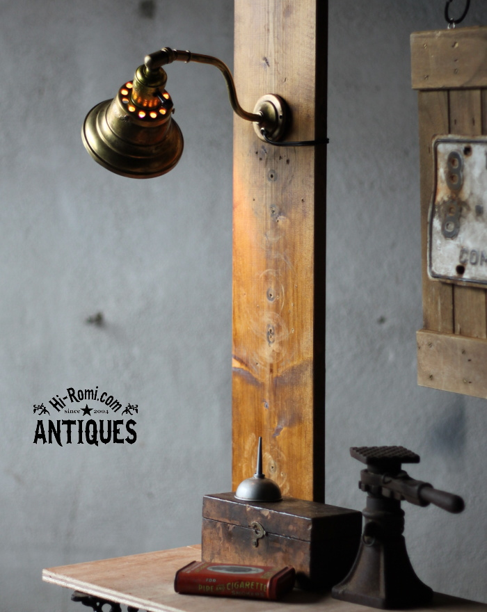 LEVITONソケット真鍮シェード壁掛ライト/アンティーク照明ランプ YOL-12-4