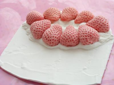3Dいちごケーキ