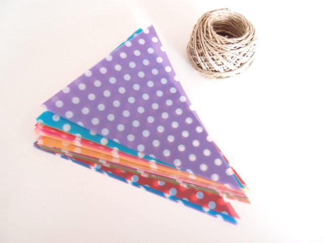 ハート 折り紙 折り紙 ガーランド 作り方 : divulgando.net