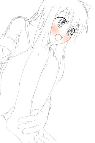 お座り京子