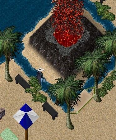 ミニ火山?