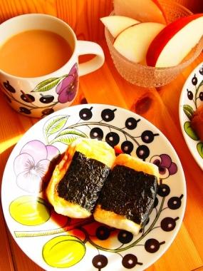 isobe-mochi & pizza toast