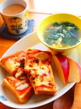 pizza toast × KoKo