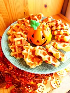 Halloween waffle