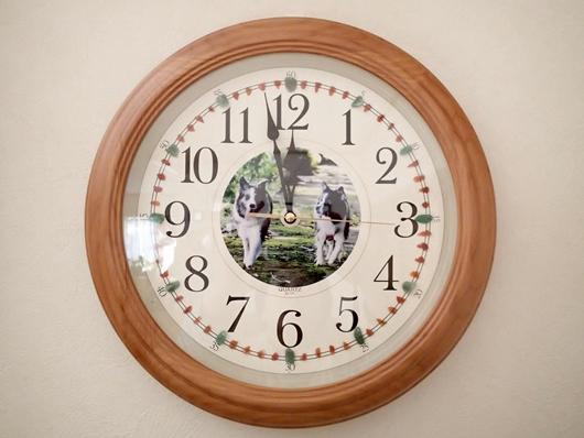 オリジナル掛け時計