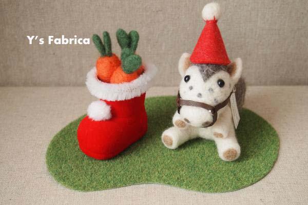 馬作品の特別Ver.「クリスマス」。
