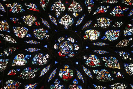 サントシャペルバラ窓