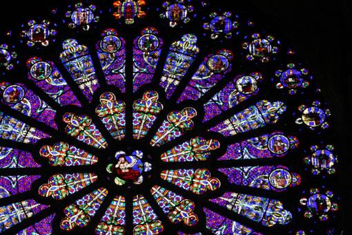 サンドニ大聖堂バラ窓