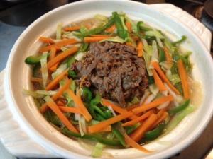 野菜たっぷりプルコギ風ピリ辛鍋6
