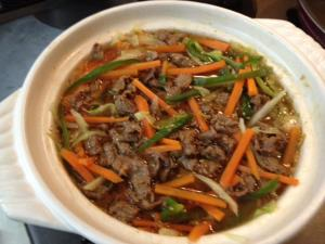 野菜たっぷりプルコギ風ピリ辛鍋7