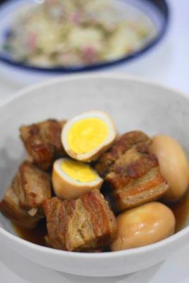豚肉の梅酒角煮