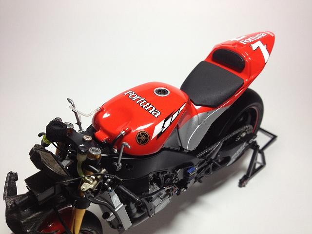 YZR-M1 エンジン写真 007DUCATI